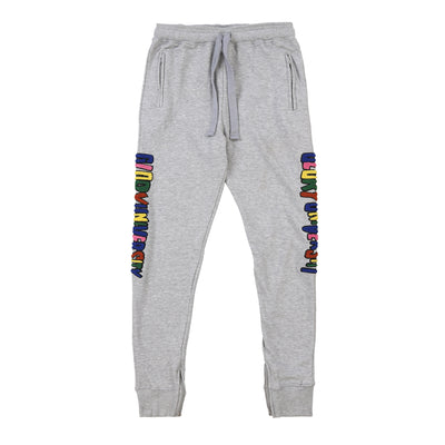 Glory University Chenille Primary Patch Sweatpants (Grey)