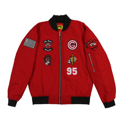Cappin Bomber II Jacket (Red)