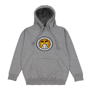 Glo Gang Logo Patch Hoodie (Heather Grey)