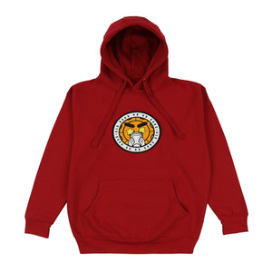 Glo Gang Logo Patch Hoodie (Red)