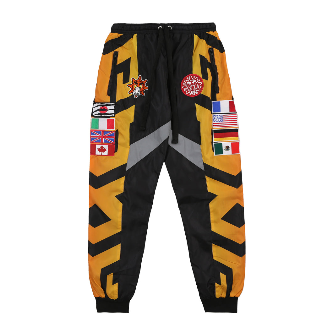 Flag Pants (Orange)