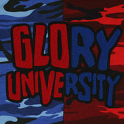 Glory University Chenille Multi Patch (Camo Red & Blue)
