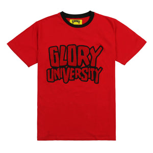 Glory University Chenille Patch Shirt (Red)