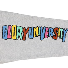 Glory University Chenille Patch Solid Sweatpants (Grey)