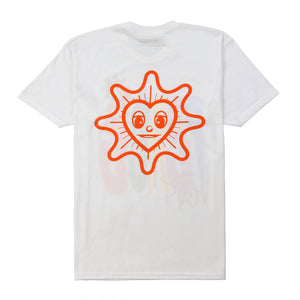 Peace + Love Tee (White)
