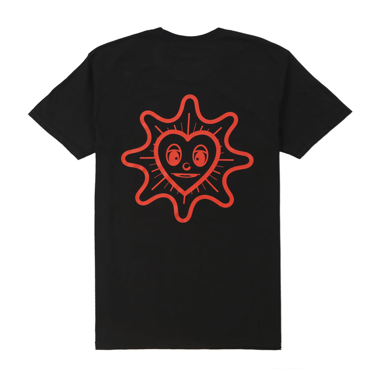 Peace + Love Tee (Black)