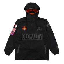 Insideout Reversable Windbreaker (Black)