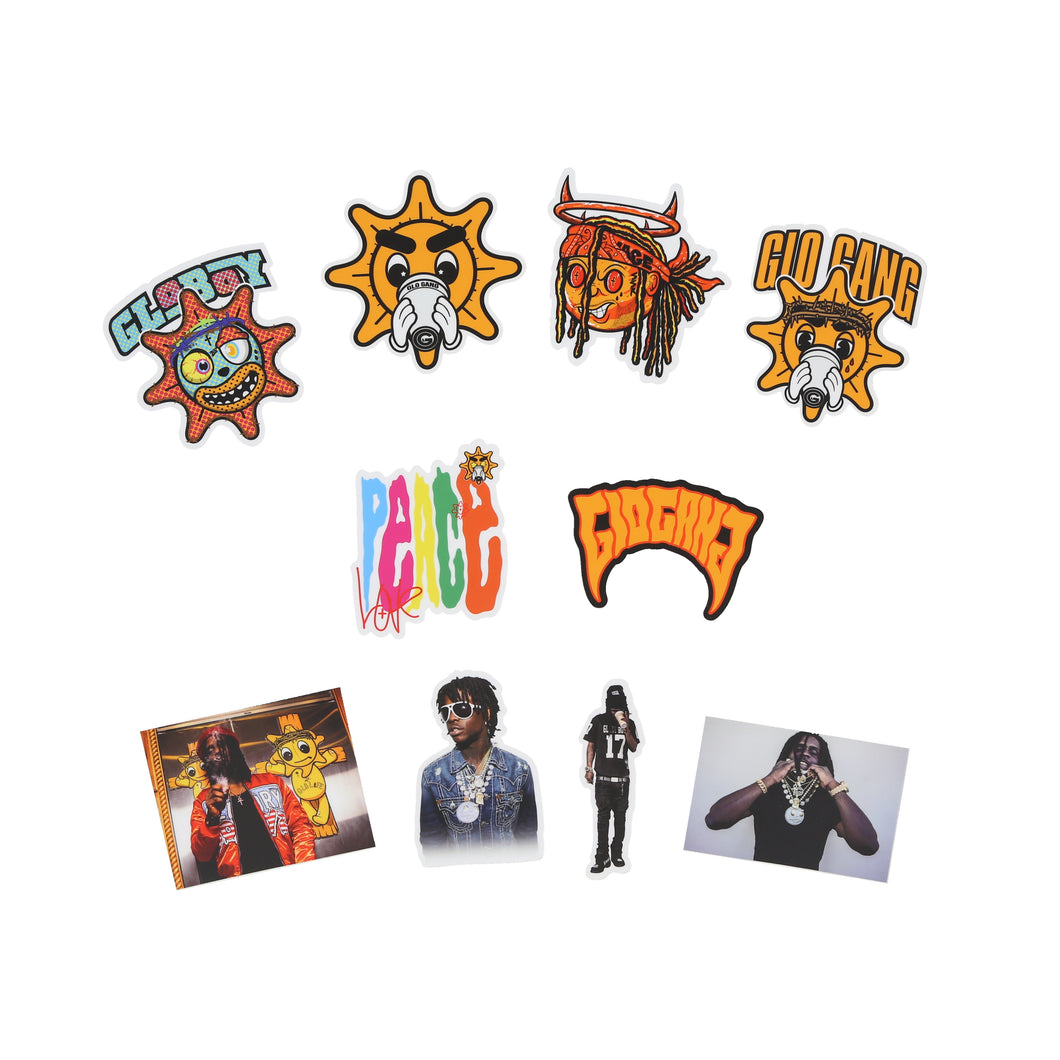 Glo Boy Sticker Pack