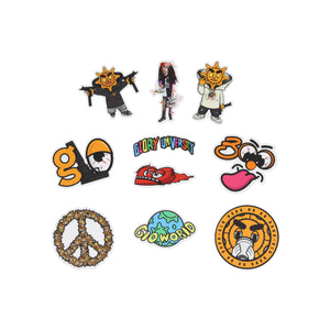 Glo World Sticker Pack