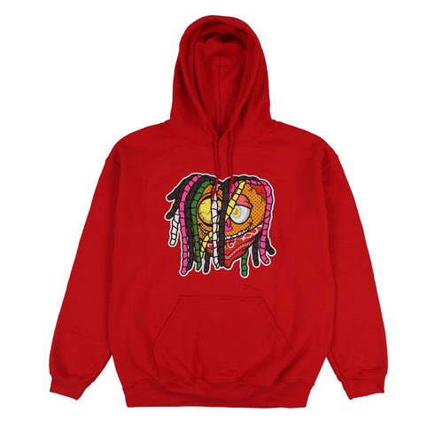 Thot Breakers Color Hoodie (Red)