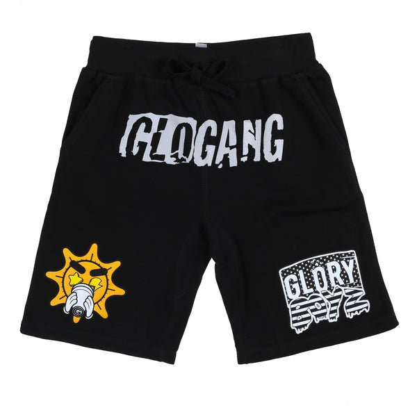 Glo Glory Boyz Shorts (Black)