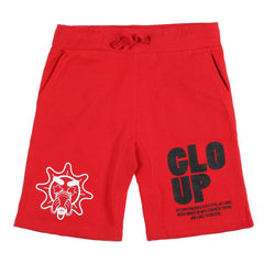 Glo Up Shorts (Red)