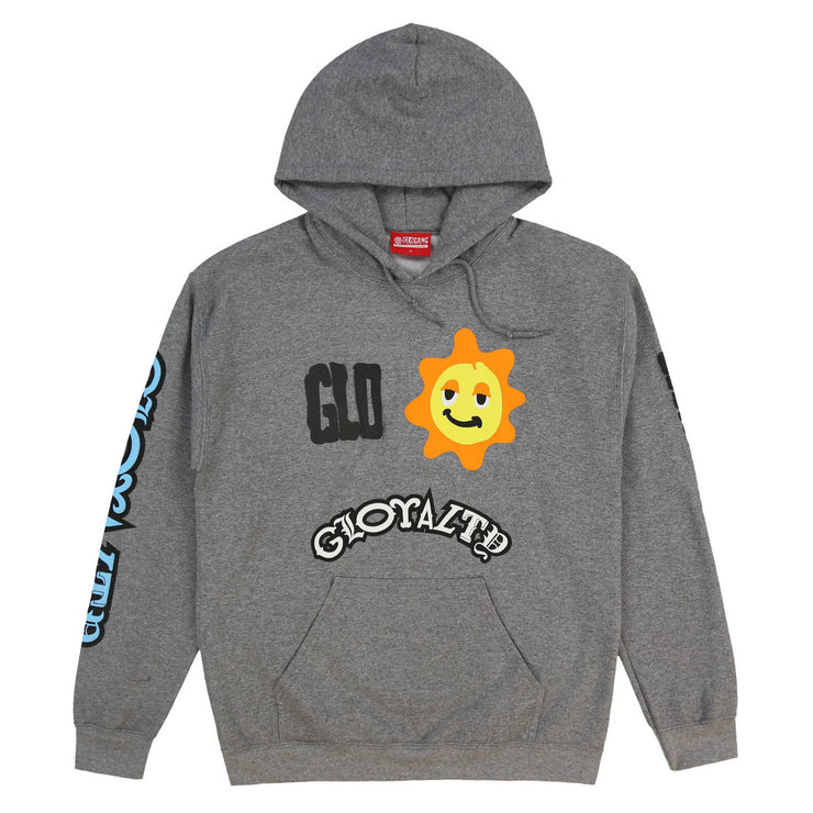 World Revolves Hoodie (Graphite Heather)