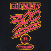 300 Gloyalty Hoodie II (Black/Orange)
