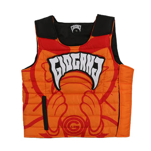 Glo Gang Vest (Orange)