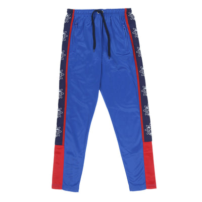 Glo Gang Color Block Track Pants (Blue)