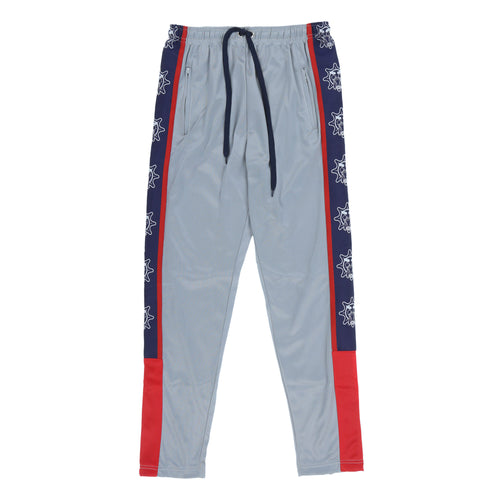 Glo Gang Color Block Track Pants (Grey)