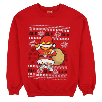 Glo Gang Christmas Sweater (Red)