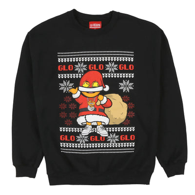 Glo Gang Christmas Sweater (Black)
