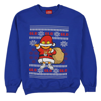 Glo Gang Christmas Sweater (Royal)