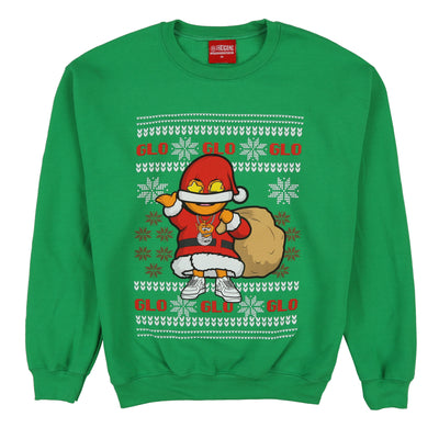 Glo Gang Christmas Sweater (Green)