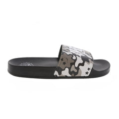 Glo Gang Grey Camo Slides