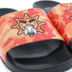 Glo Gang Cup Orange Camo Slides