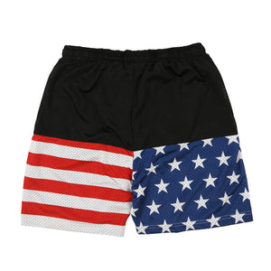 Glory Boyz Flag Shorts (Black)