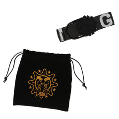 Glo Gang Gang Gang Belt (Black)