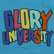 Glory University Chenille Patch Shirt (Aqua)