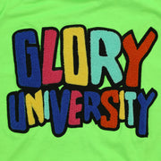 Glory University Chenille Patch Shirt (Neon Green)