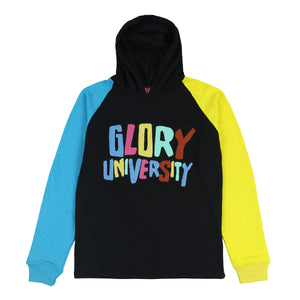 Glory University Chenille Patch Hoodie (Black)