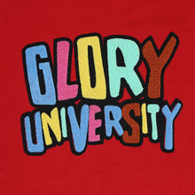 Glory University Chenille Patch Hoodie (Red)
