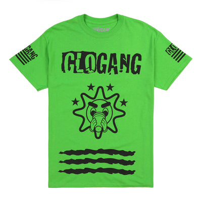Gloyalty 300 Flag Tee (Neon)