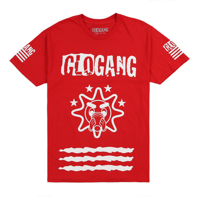 Gloyalty 300 Flag Tee (Red)
