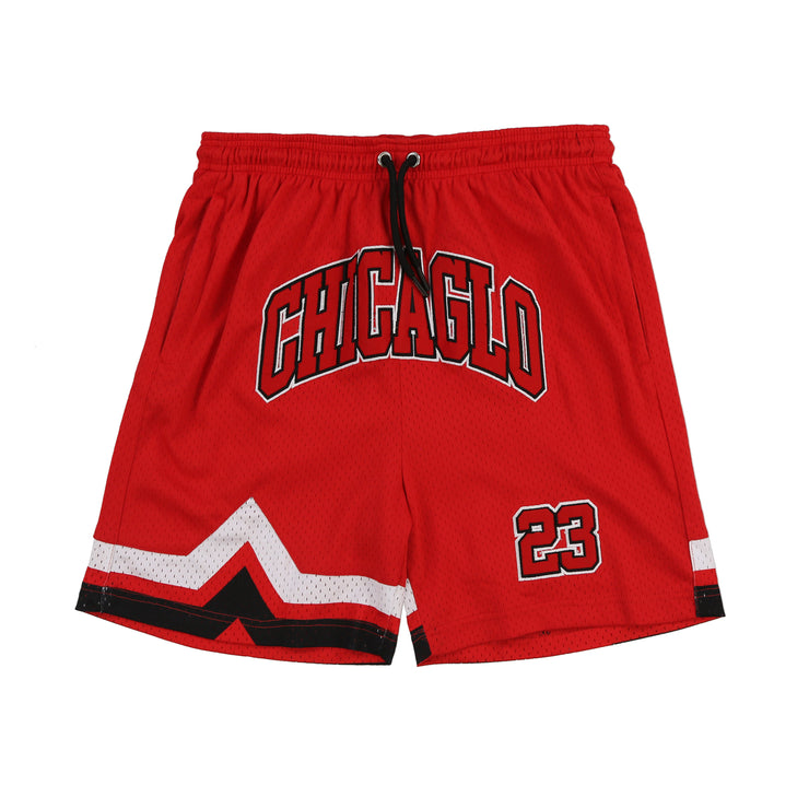 Chicaglo 23 Basketball Shorts (Red)