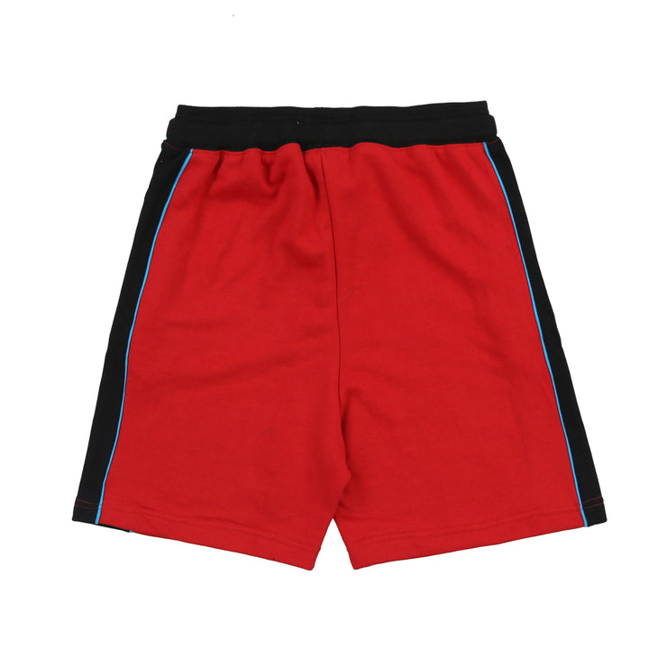 Glory University Chenille Patch Shorts (Red)