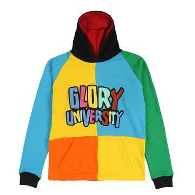 Glory University Chenille Multi  Patch(Aqua/Green/Orange/Yellow)