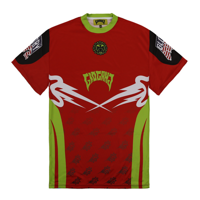 Glo Gang Motor Cross Short Sleeve (Red)