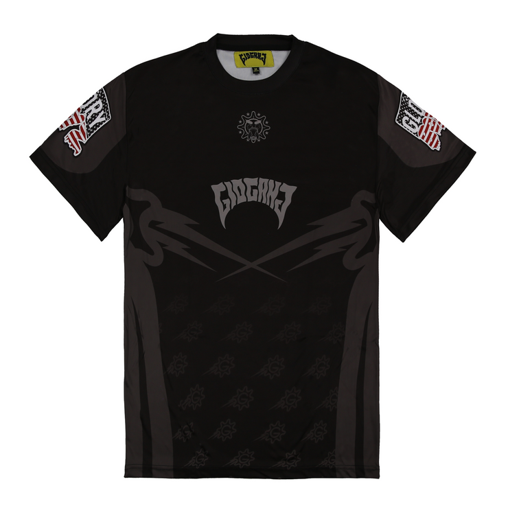Glo Gang Motocross Short Sleeve (Black)