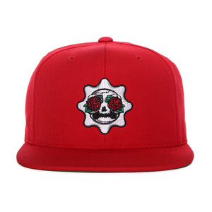 Skull of Glory Snapback (Red)