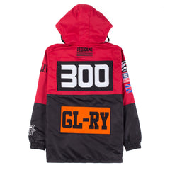 Gloyalty Pullover Jacket (Orange/Red)