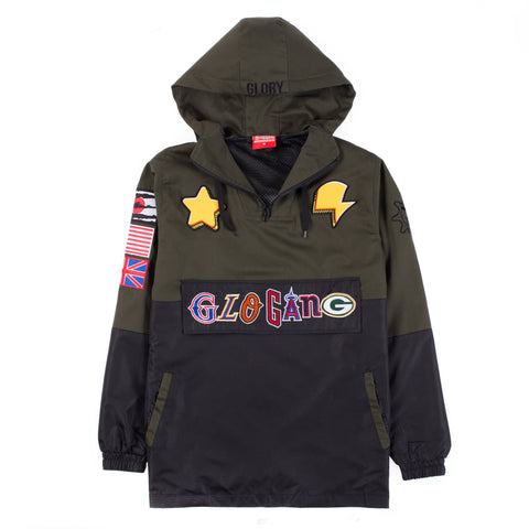 Glo Gang Team Pullover (Green)
