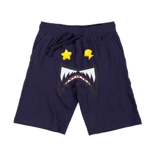 Glo Gang Monster Shorts (Navy)
