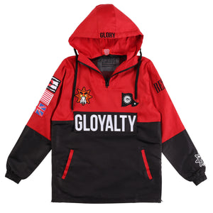 Gloyalty Pullover Jacket (Red)