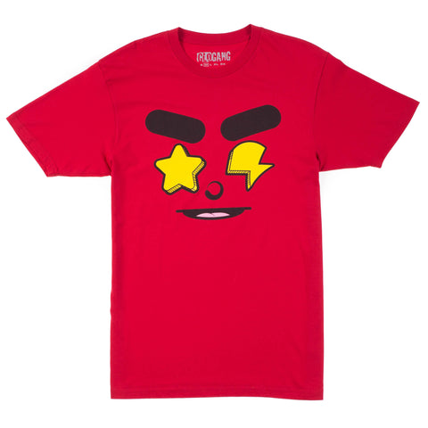 Glo Gang Real Eyez Tee (Red)