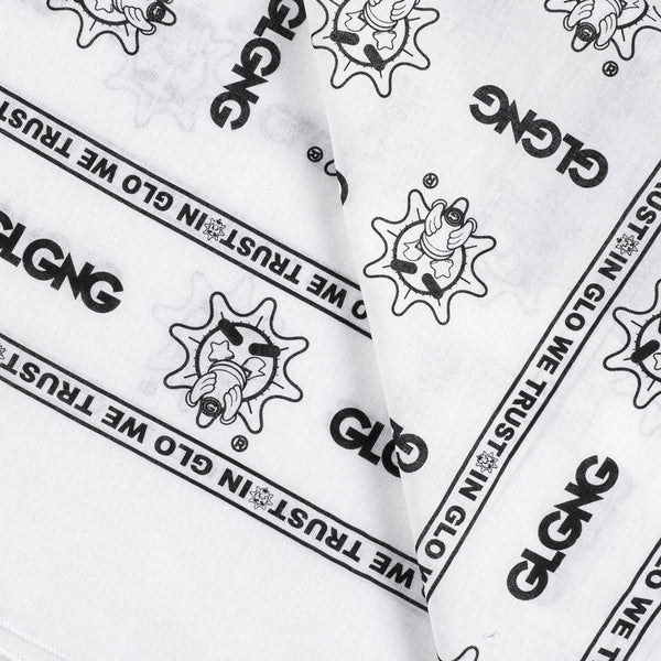 In Glo We Trust Bandana (White)