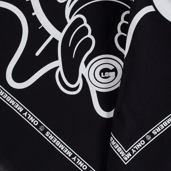 Only Members Bandana (Black)