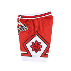 ChicaGlo Basketball Shorts (Red)
