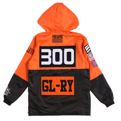 Gloyalty Pullover Jacket (Orange)